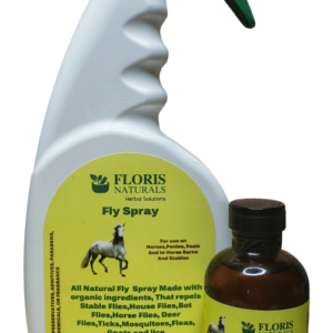 Floris Naturals - Equine Fly Spray Kit, Makes 1 gallon