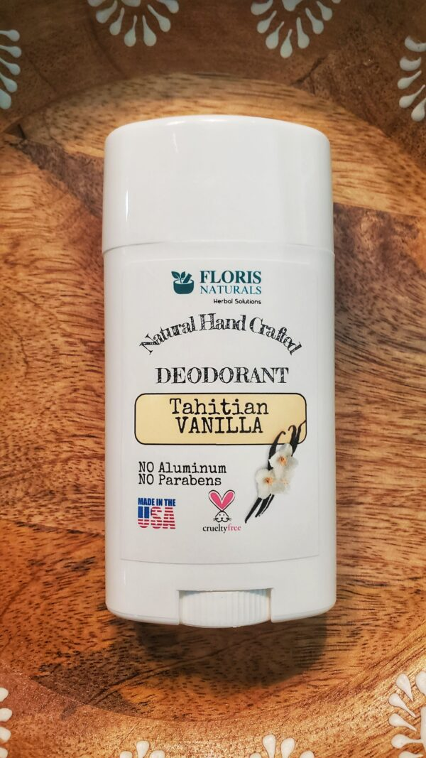 Natural Organic Hand-Crafted Cruelty Free Roll-On Deodorant - Tahitian Vanilla