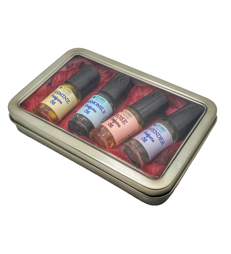 100% Natural Organic Exotic Perfume Box Set for Girls