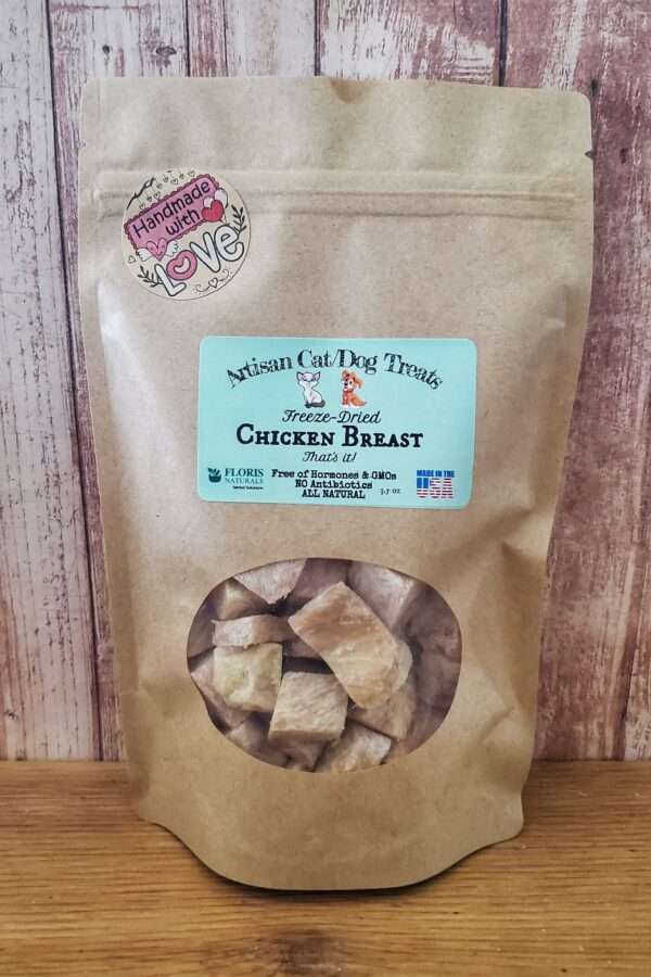Natural Organic Artisan Dog Treats with Chicken Breast