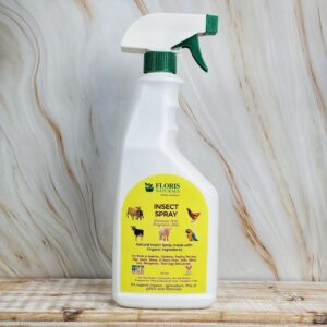 Natural Insect Spray for Farm Animals (Chemical-Free) - Floris Naturals