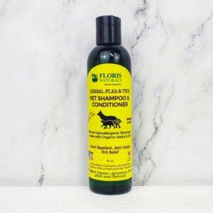 Natural Flea Shampoo for Cats & Dogs- Floris Naturals