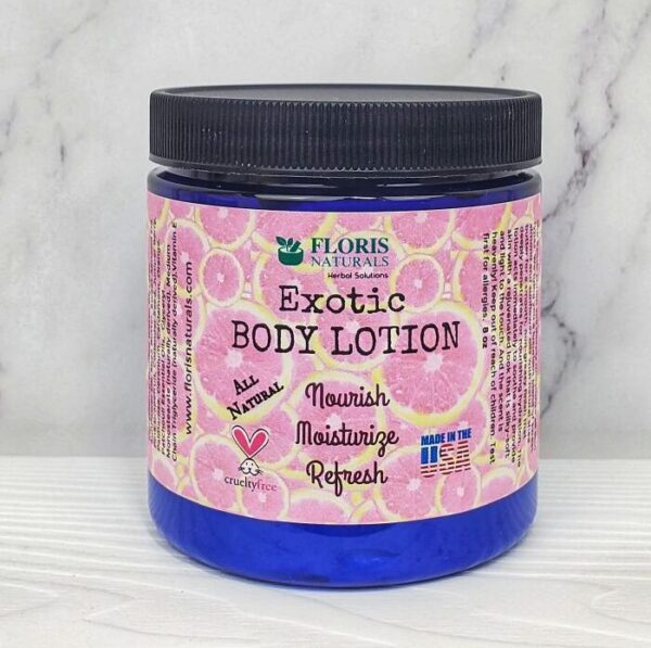 Natural Body Lotion (Exotic)