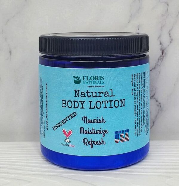 Natural Body Lotion (Unscented)