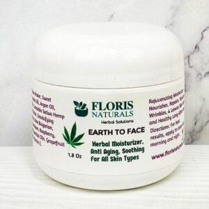 Natural Herbal Anti-Aging Face Moisturizer - Floris Naturals
