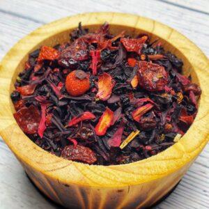 Natural Loose Tea - Berry Medley Tea - Floris Naturals