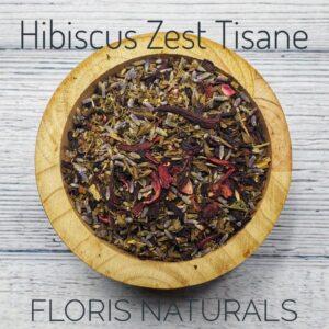 Natural Loose Tea - Hibiscus Zest Tea - Floris Naturals