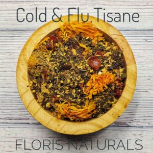 Natural Loose Tea - Cold & Flu Tea - Floris Naturals