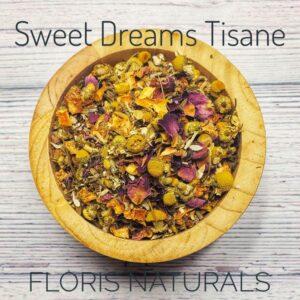 Natural Loose Tea - Sweet Dreams Tisane - Floris Naturals