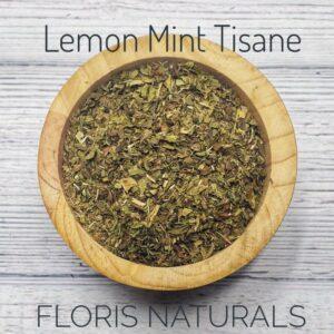 Natural Loose Tea - Lemon Mint Tea - Floris Naturals
