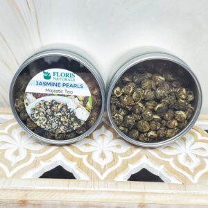 Natural Loose Tea - Jasmine Pearls - Floris Naturals