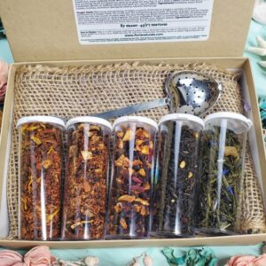 Natural Fruity Delights Tea Sampler Gift Box - Floris Naturals