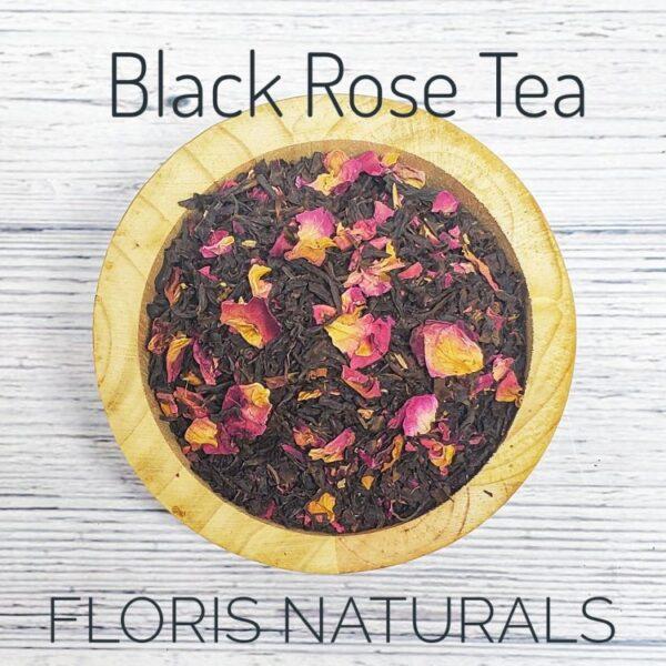 Natural Black Rose Tea - Floris Naturals