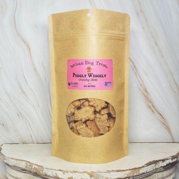 Natural Dog Treats - Piggly Wiggly Crunchy Bites - Floris Naturals