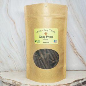Natural Dog Treats - Chewy Duck Sticks - Floris Naturals