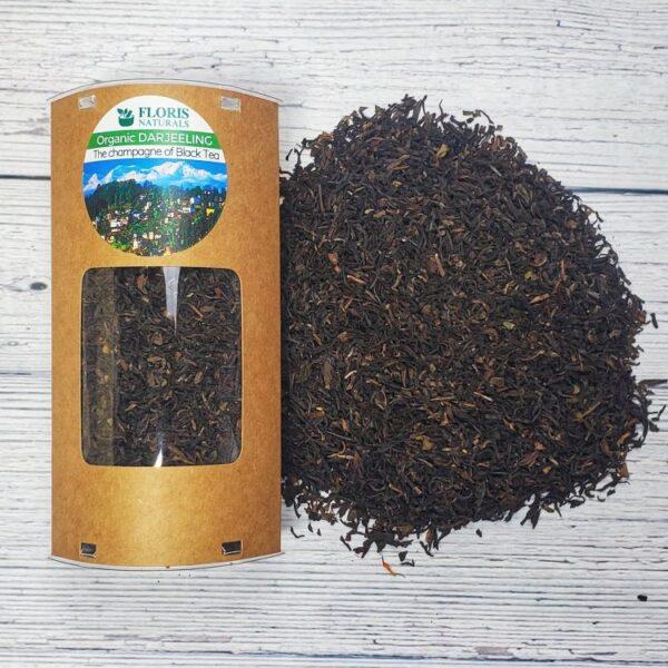 Organic Darjeeling Tea (Black Tea) - Floris Naturals