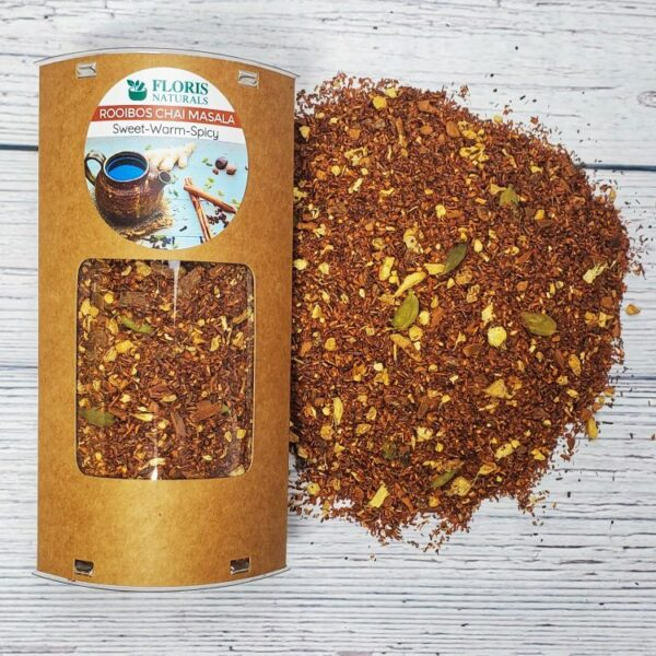Natural Rooibos Chai Masala Tea (Sweet Warm Spicy) - Floris Naturals