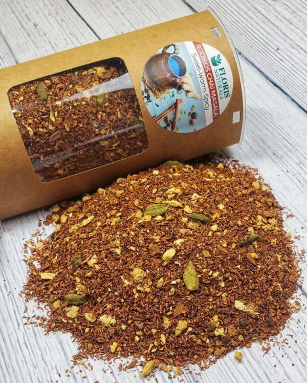 Natural Rooibos Chai Masala Tea - Floris Naturals