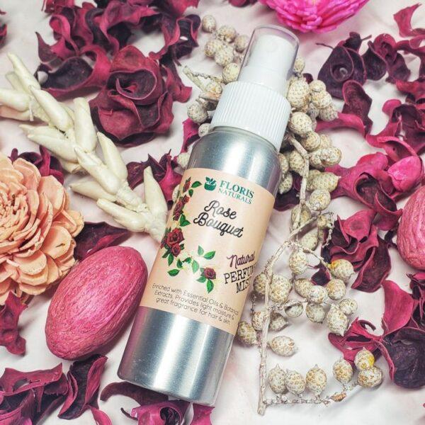 Natural Perfume Mists - Rose Bouquet