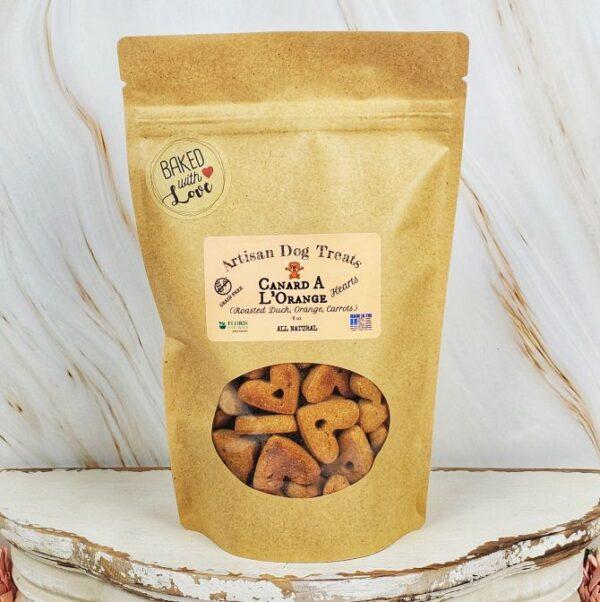 Floris Naturals - Canard L'orange - Natural Dog Treats