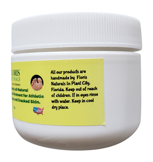 Natural Organic Athletes Foot Antifungal Ointment - Floris Naturals