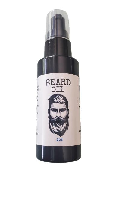 Natural Organic Herbal Beard Oil for Men - Floris Naturals