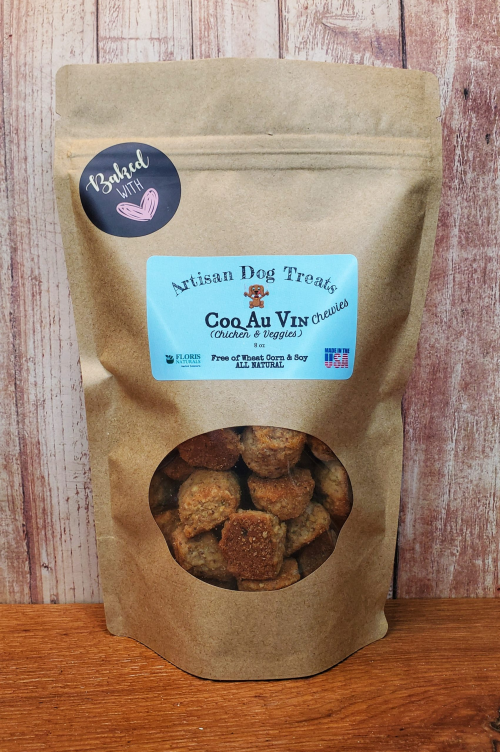 Floris Naturals - COQ AU VIN Chewies - Dog Treats