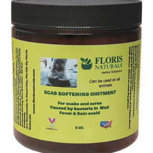 Floris Naturals - Equine Scab Softening Ointment 8oz