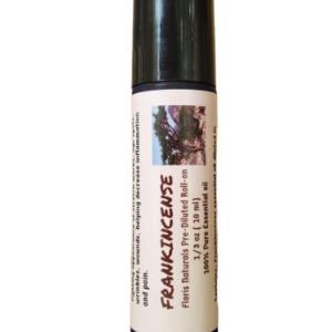 Natural Organic Herbal Frankincense Roll-On Deodorant - Floris Naturals