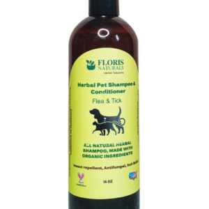 Floris Naturals - Herbal Flea & Tick Shampoo & Conditioner, Itch Relief