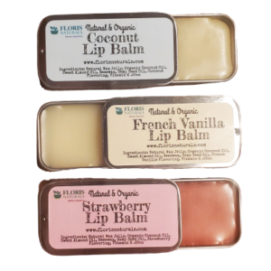 Floris Naturals - Natural Organic Lip Balms