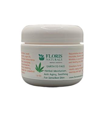 Floris Naturals - Natural Face Moisturizer 1.8oz