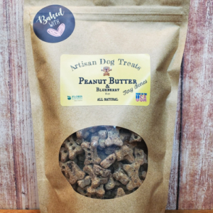 Floris Naturals - Peanut Butter & Blueberry Tiny Bones