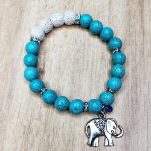 Floris Naturals - Turquoise-Elephant 10mm #2