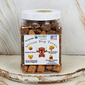 Floris Naturals - Best Natural Dog Treats Jar