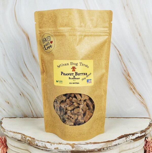 Floris Naturals - Blueberry and PB Natural Dog Treats