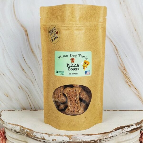 Floris Naturals - Pizza Bites Natural Dog Treats