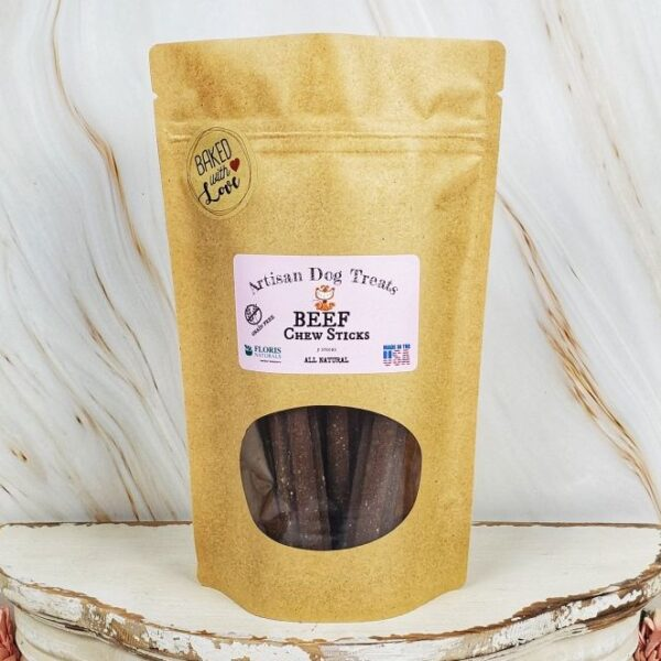 Floris Naturals - Beef Sticks Natural Dog Treats