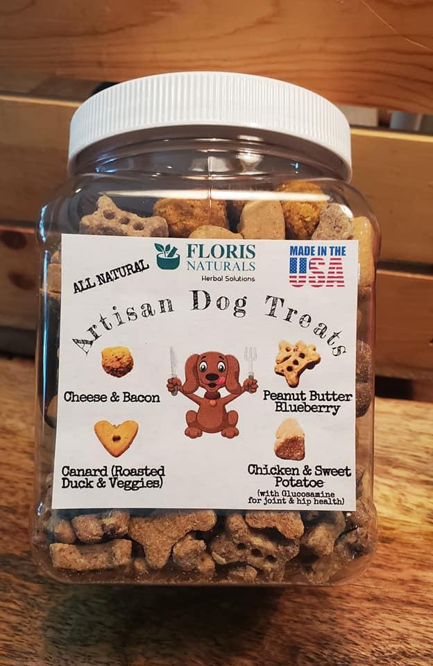 Natural Organic Artisan Dog Treats